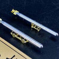High Simulation Metal Torpedo Model w/Carriages for 1/200 Scale Warship Model