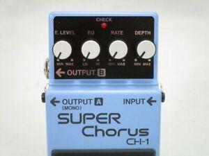 BOSS / CH-1 Super Chorus Electric Guitar Effects Pedals