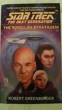 Star Trek The Next Generation #35 The Romulan Stratagem Robert Greenberger