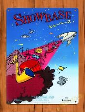 TIN SIGN  Disney Showbase Rocket Tokyo Attraction Ride Poster Art