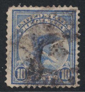 Scott F1- Used- 10c Eagle, Registry- US Registration Stamp, 1911- back of book
