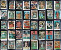 1986 1987 Sportflics Baseball Cards Complete Your Set You U Pick From List
