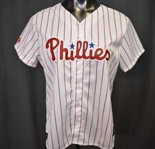 Majestic MLB Womens Philadelphia Phillies Baseball Jersey NWT $65 XL