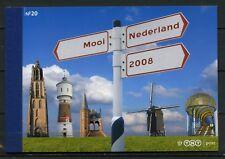 Mooi Nederland 2008  prestigeboekje 20 - **AANBIEDING**