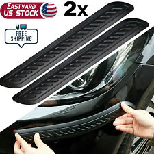 Car Bumper Corner Door Guard Cover Accessories Anti Scratch Protector Sticker Us
