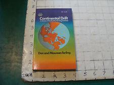 UNREAD  High Grade Pbk: CONTINENTAL DRIFT don maureen tarling 1971, 140pgs