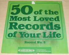 50 OF THE MOST LOVED RECORDS OF YOUR LIFE RECORD NO. 3 1984 SMI 17693 SUFFOLK