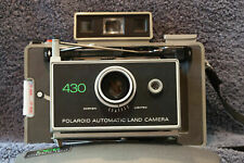 Polaroid Automatic 430 Color Pack Instant Land Camera nice