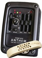 LR Baggs STAGEPRO ANTHEM Acoustic Guitar Dual Pickup System with Peamp/EQ