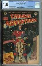 Strange Adventures #9 CGC 1.8 Origin And 1st App Captain Comet Adam Blake