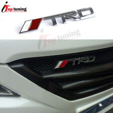 TRD Front Grill Grille Emblem Metal Decal Badge for Toyota Camry Corolla Yaris