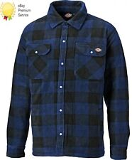 MENS DICKIES PORTLAND WORKWEAR PADDED WORK CASUAL SHIRT SH5000 ROYAL SIZE S-4XL
