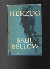 "Saul Bellow HERZOG Viking Press ""First Published 1964"" Vintage Book"
