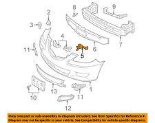 MAZDA OEM 04-06 3 Front Bumper-Retainer Bracket Right BN8V500T1C