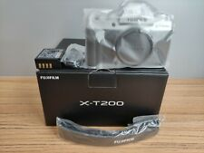 Fujifilm X-T200 24.2MP Mirrorless Camera - Silver (Body Only) 16645618