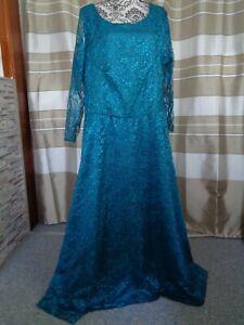 (A236)  Ausgefallenes Damen Abendkleid GR: 48