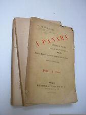 Molinari : A Panama, la Martinique, Haïti 6 gravures 1 carte 1887