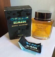MARIO VALENTINO OCEAN RAIN PROFUMO UOMO VINTAGE 100 ML MEN'S COLOGNE SPLASH '80s