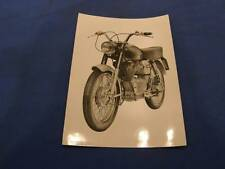Original Press Photo Moto Guzzi 125cc Sport Beautiful Picture 477
