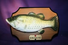 BIG MOUTH BILLY BASS 1999 GEMMY INDUSTRIES works great C
