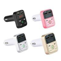 Car Kit Handsfree Wireless Bluetooth FM Transmitter MP3 Player USB Charger J0O3