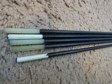 5 Rod Building Wrapping Black Graphite Fiber Glass 33