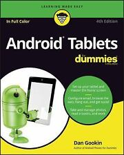 Android Tablets for Dummies by Dan Gookin (2016, Paperback)