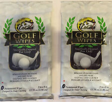 GOLF BALL AND CLUB PRE-MOISTENED  WIPES LAGILA SET 2 PACKAGES
