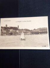 Postcard Unused La Cote D'azur Cannes Le Mont Chevallier b1s