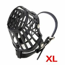 Aadjustable Satety Dog Pet Puppy Muzzle Basket Cage 7 Size P9x1 XL