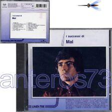 """MAL """"I SUCCESSI DI"""" RARO CD LINEATRE 1990 - SIGILLATO"""