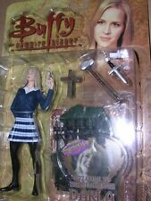 """BUFFY & ANGEL ACTION FIGURE : """"WELCOME TO THE HELLMOUTH"""" DARLA MOC"""