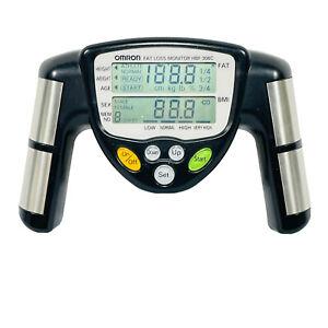 RARE GENUINE Omron Fat Loss BMI Monitor Track HBF-306CN TESTED WORKS