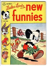 Walter Lantz New Funnies #129 (Nov 1947, Dell) VG Woody Woodpecker