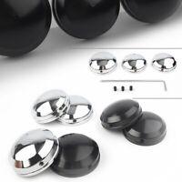 CNC Upper Fork Stem Nut Covers Kit for Harley XL FXD FXDL FLS FLSS  FLSTN FLSTC