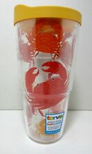 Tervis Tumbler 24oz Crab Pattern Hot/Cold Iced Tea