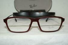 Brand New Authentic Ray-Ban RB 7038 LightRay Color 5456 Wine Size 53 With Case!