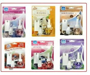 New Pan Aroma Electric Scent plug in Air Freshener Refill SOOTHING LAVENDER Etc