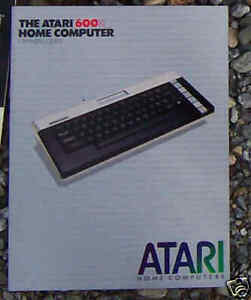 600XL OWNERS GUIDE NEW Atari  REMOVED FROM NEW COMPUTERS