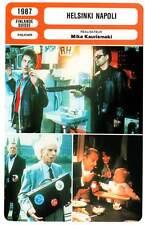 FICHE CINEMA : HELSINKI NAPOLI - Kaurismaki 1987 Helsinki-Naples All Night Long