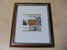 "CASCADE BRONZE & SILVER 8x10 INCH (20x25 CM) MOUNTED (5x7 "") PHOTO FRAME - NEW"