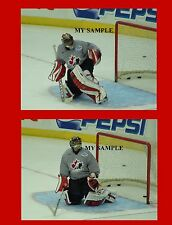 "2 Roberto Luongo 2004 Team Canada Florida Panthers Goalie Mask 8"" by 10"" Photos"