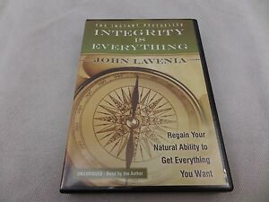 Audio CD Integrity is Everything Regain Your Natural Ability to Get Everything