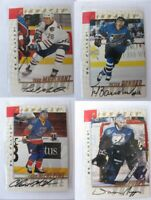 1997-98 BaP Signature Be a Player #72 Marchant Todd  autograph  oilers