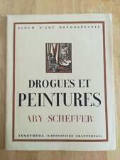 Livret publicitaire pharmaceutique ancien drogues et peintures Ary Scheffer N°17