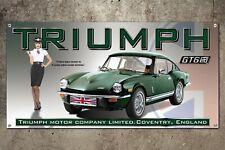 Custom Triumph GT6 MK3 Garage Banner   2ft x 4ft