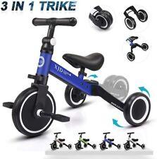XJD Bebé Triciclo Bicicleta de Equilibrio para Niños y Niñas de 1 a 3 años Azul