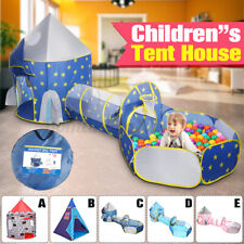 3in1 Ocean Spielzelt + Tunnel + Tasche Kinderzelt Bällebad Spielhaus Babyzelt DE