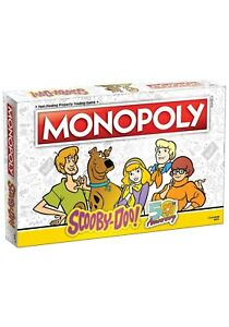 THE OP (USAopoly) Monopoly: Scooby-Doo - NEW