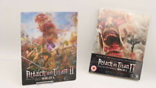 Attack On Titan 2 II HMV Exclusive Bluray Steelbook + 3D Lenticular Magnet Cover